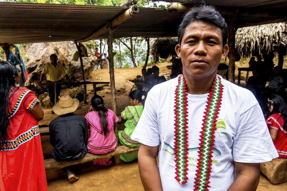 Comarca indígena Ngöbe-Buglé.  Rio Tabasará