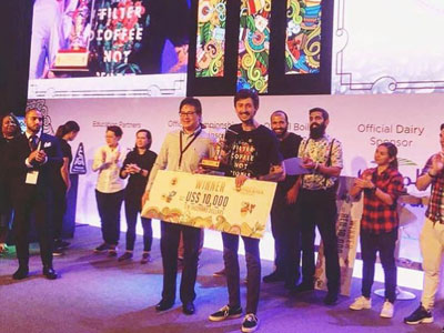 1st Place, International Brewer's Cup, Dubai
