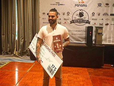 1st Place, Panama Brewers Cup