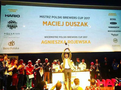 1st Place, Polish Brewers Cup