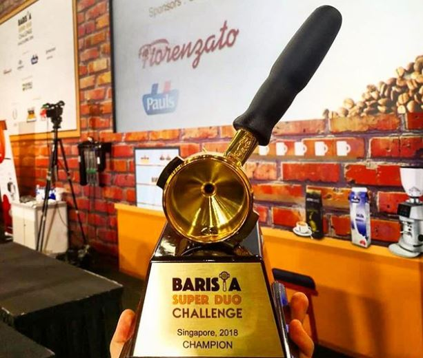 1st Place, Bi-annual Singapore FHA Barista Super Duo Challenge
