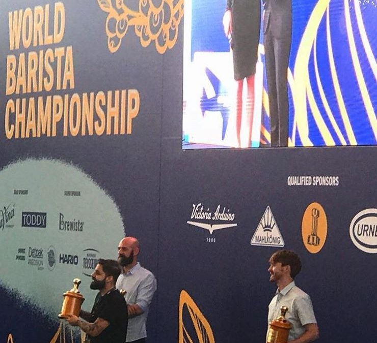 4th Place, World Barista Championship, Amsterdam