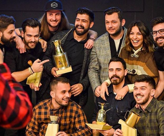 2019 Hellenic National Barista Champion