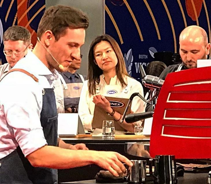 10th in the 2019 World Barista Championship