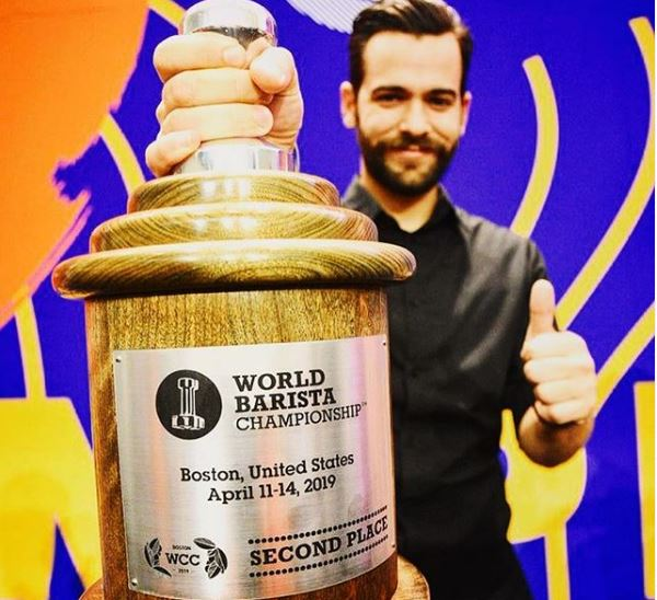 2nd Place, World Barista Championship, Boston