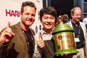 1st Place, World Barista Championship