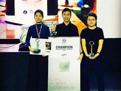 3rd Place, Malaysia Barista Championship
