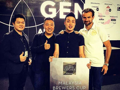 1st Place, 2017 Malaysia Brewers Cup