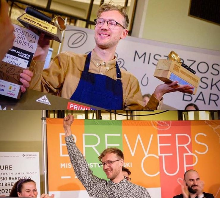 1st place in the 2019 Polish National Barista Championship