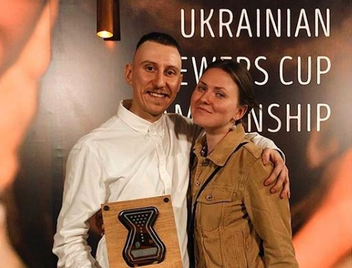 2nd place in the Ukrainian National Brewers Cup
