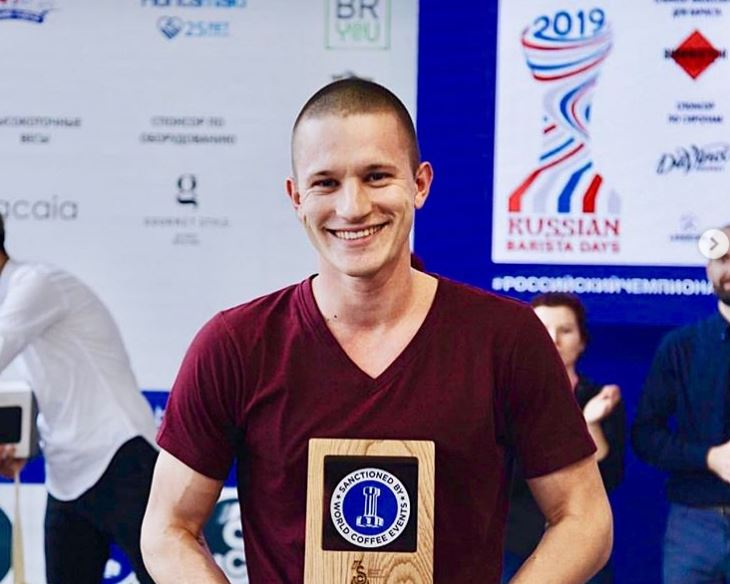Winner of the 2019 Russian National Barista Championship!