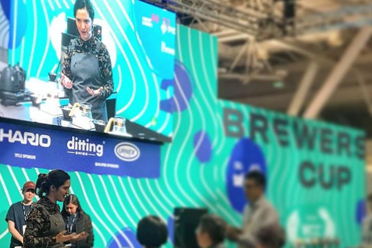 9th in World Brewer's Cup